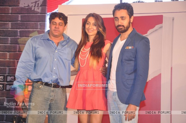 Cyrus Broacha, Anusha Dandekar and Imran Khan unveils MTV show 'The One'