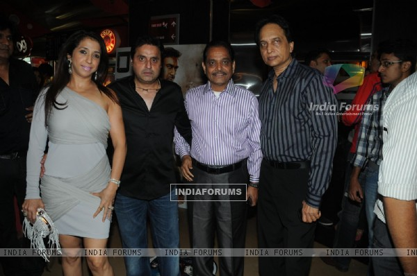 Krishika Lulla, Sunil Lulla and Ratan Jain at Premiere of film Tezz