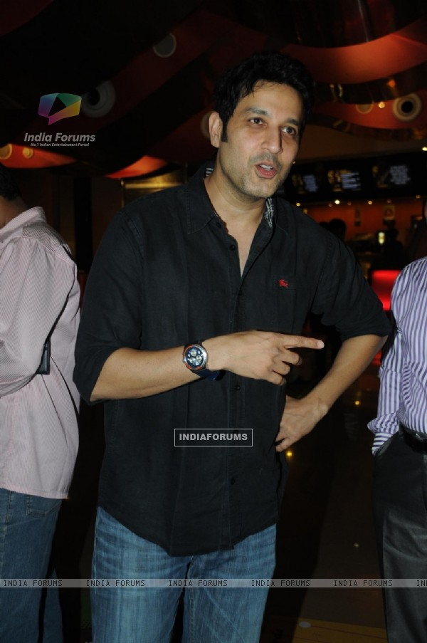 Khalid Siddiqui at Premiere of film Tezz