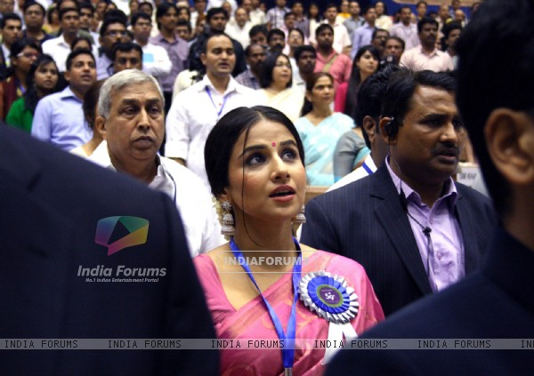 Vidya Balan at the''59 National Film Awards'', in New Delhi on Thursday 03 May 2012
