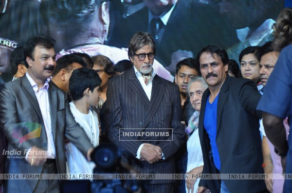 Amitabh Bachchan at Dadasaheb Phalke Academy Awards in Mumbai
