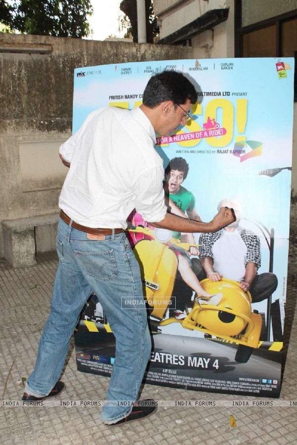 Rajat Kapoor at Fatso special screening for kids at Ketnav