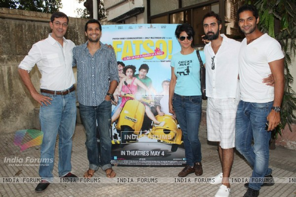 Purab Kohli, Ranvir Shorey, Rajat Kapoor, Gul Panag at Fatso special screening for kids