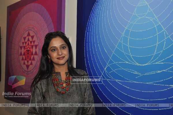 "Mrinal Kulkarni at Group Exhibition of Paintings ""Serene Palette"""