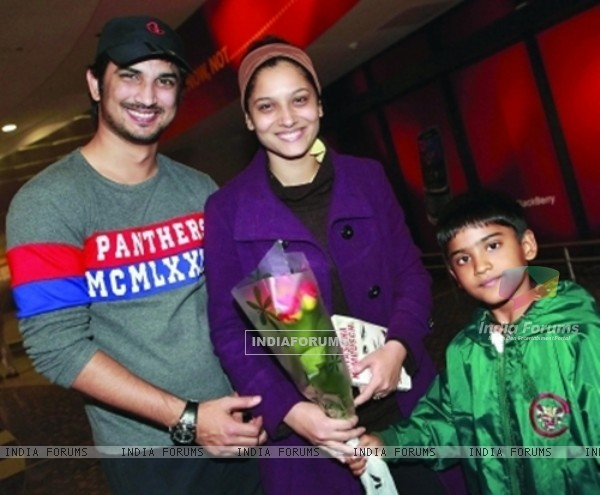 Sushant Singh Rajput, Ankita Lokhande At South Africa Airport