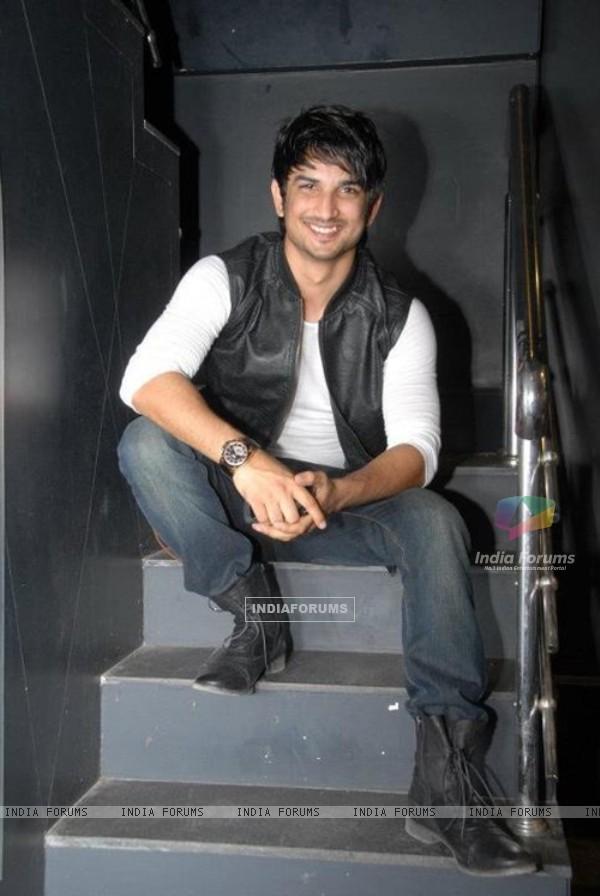 Sushant Singh Rajput At Blackk Spalon