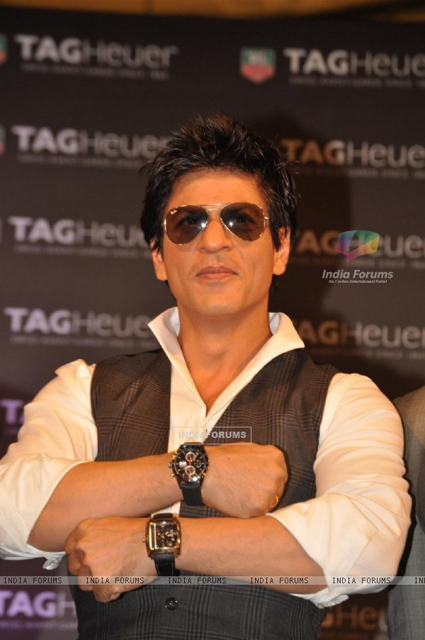 Shahrukh Khan launches Tag Heuer watch