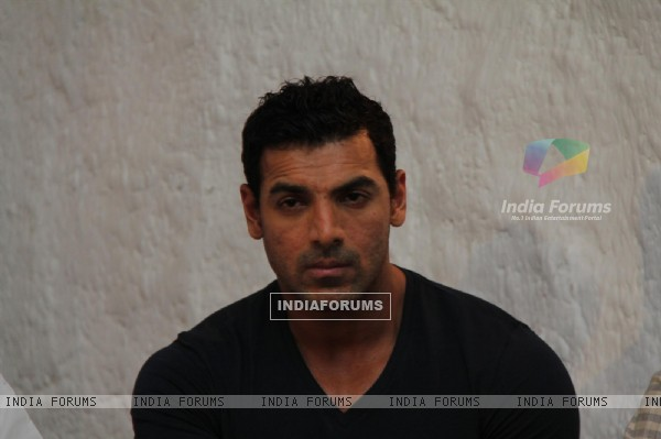 John Abraham at launch book Dongri to Dubai by Hussain Zaidi