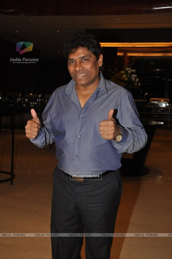 Johny Lever at Film Tukkaa Fitt first look launch at Hotel Novotel in Juhu, Mumbai