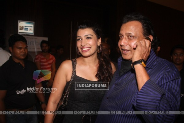 Mink and Mithun Chakraborty at Film Tukkaa Fitt first look launch at Hotel Novotel in Juhu, Mumbai