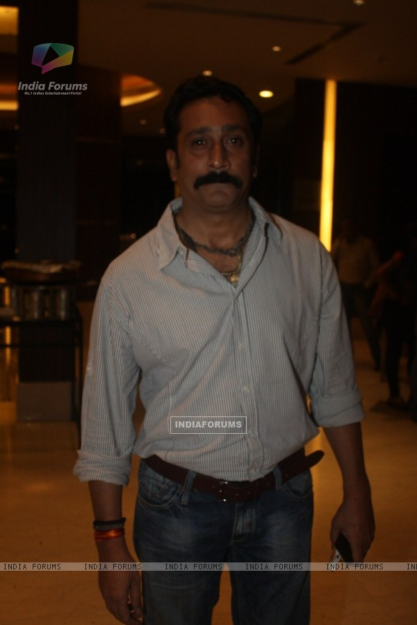 Mukesh Tiwari at Film Tukkaa Fitt first look launch at Hotel Novotel in Juhu, Mumbai