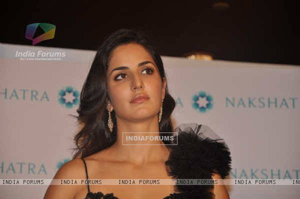 Katrina Kaif brand ambassador for 'Nakshatra' during unveiling the new Logo and brand campaign
