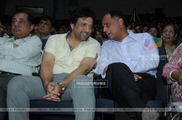 Govinda and Pahlaj Nihalani at Mother Teresa Award