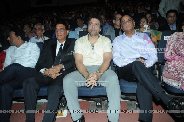 Chandru Punjabee, Govinda and Pahlaj Nihalani at Mother Teresa Award