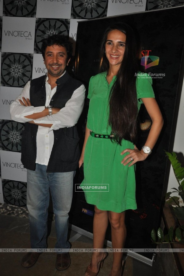 Ashvin Kumar and Tara Sharma at Success Party for 'The Forest'