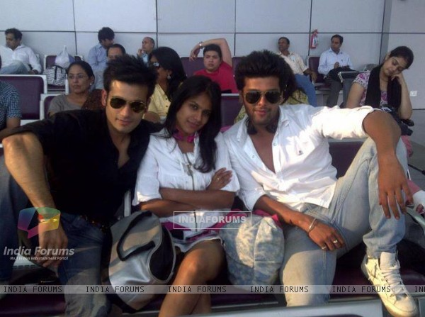 Nia Sharma, Karan Tacker & kushal tandon