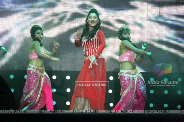 Ankita Lokhande Performing At Bengluru Ganesh Utsav