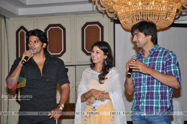 KaranVir, Harshad and Sriti