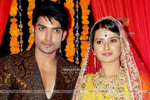 Gurmeet and Kratika During Punar Vivaah's Launch Party
