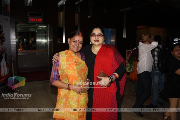 Shagufta Ali & Sushmita Mukherjee at COLORS Channel new show Madhubala...Ek Ishq, Ek Junoon premiere