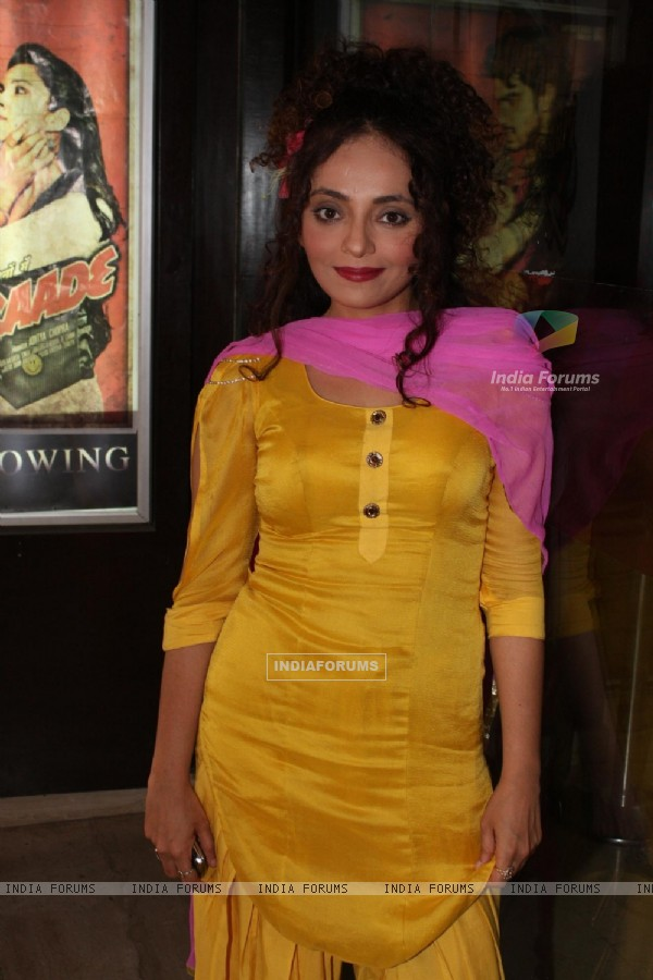 Rakhi Vijan at COLORS Channel new show Madhubala...Ek Ishq, Ek Junoon premiere