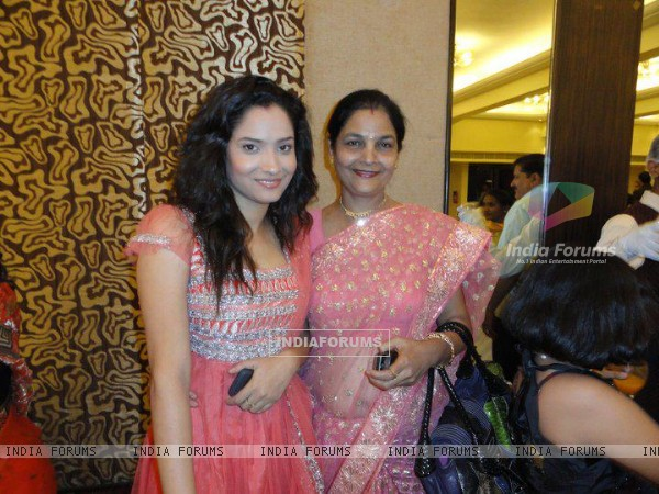 Ankita Lokhande With Her Mother