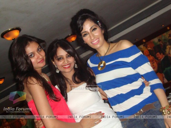 Aditi Tailang at party