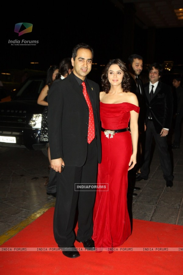 Preity Zinta at Karan Johar's 40th Birthday Party