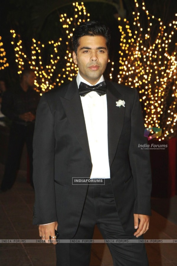 Karan Johar at his 40th Birthday Party