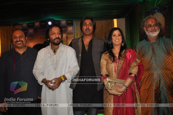 Lesle Lewis, Roop Kumar Rathod, Paras Nath, Richa Sharma at Eternal Winds World Fusion Album launch