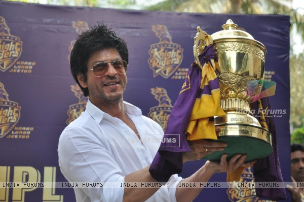 Shah Rukh Khan's press conference after KKR's victory in Indian Premiere League T20 at the IPL Season 5