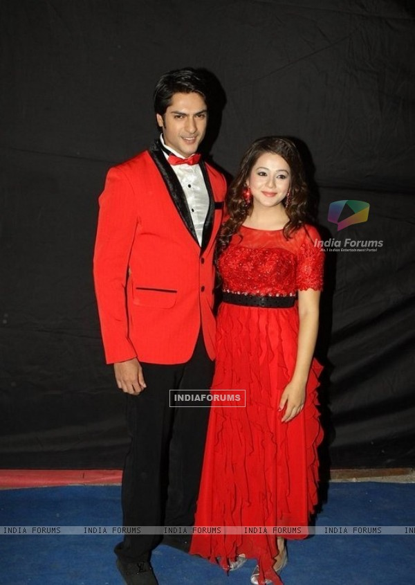 Ashish Kapoor and Priyal Gor at ITA Awards