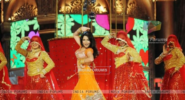 Ankita Lokhande Performing At Indian Telly Awards 2012