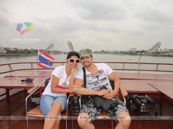 Gurmeet and Debina in Bangkok