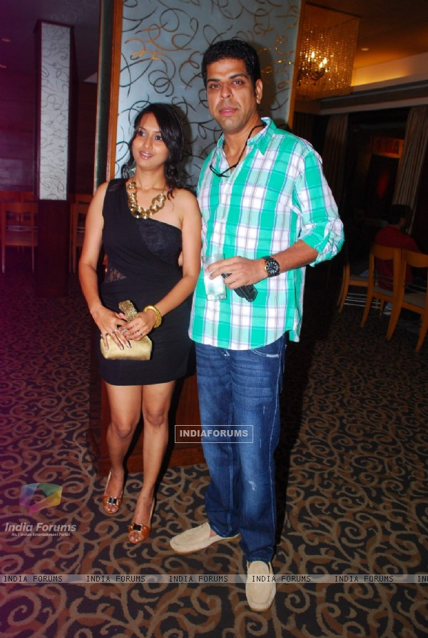 Murli Sharma and Pooja Welling at the first look of the film Jeena Hai toh Thok Daal