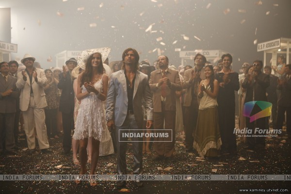 Shahid and Priyanka in Kaminey movie