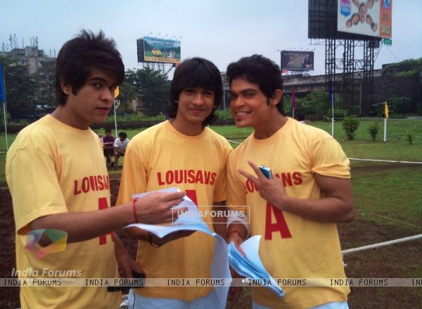Shantanu with Kunwar and Archi