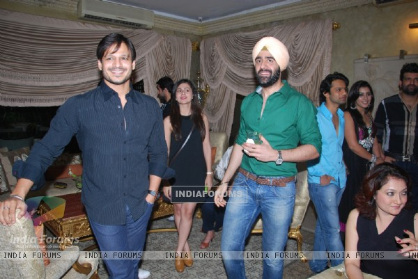 Vivek Oberoi at Mika Singh's Birthday Bash