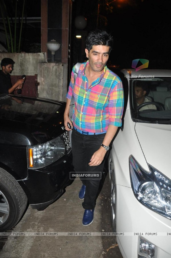 Manish Malhotra at Special Screening Film Teri Meri Kahaani