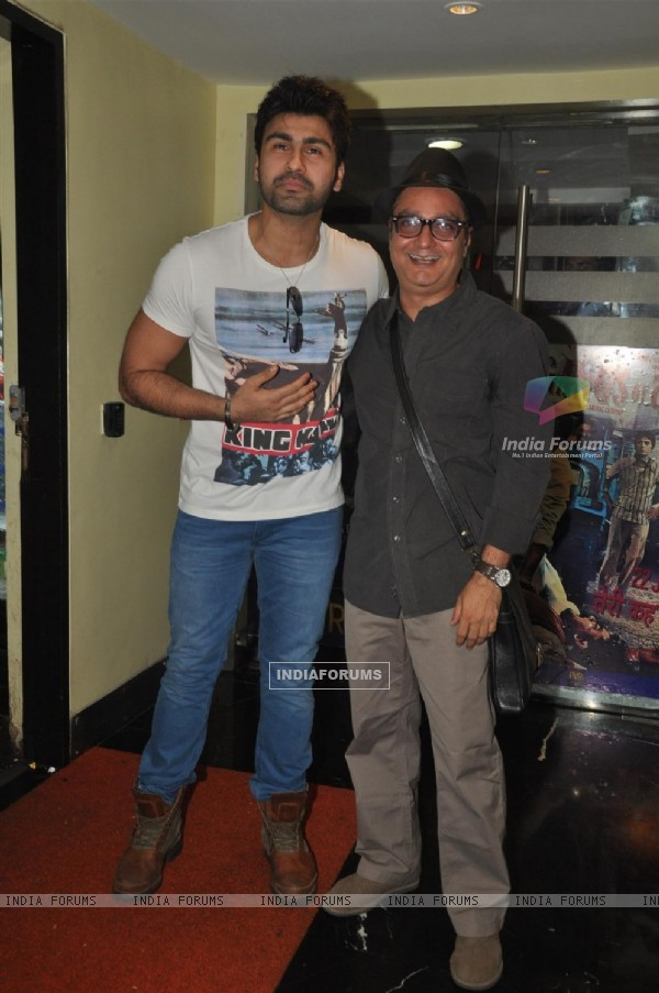 Arya Babbar and Vinay Pathak at Film Maximum music launch at PVR Cinemas in Juhu