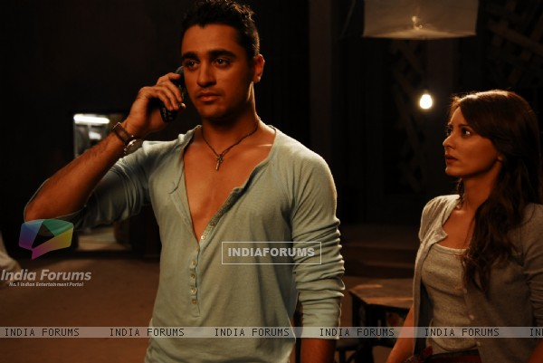 Imran Khan and Minnisha Lamba in Kidnap movie