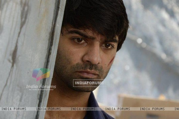 Barun Sobti during a shot for IPKKND