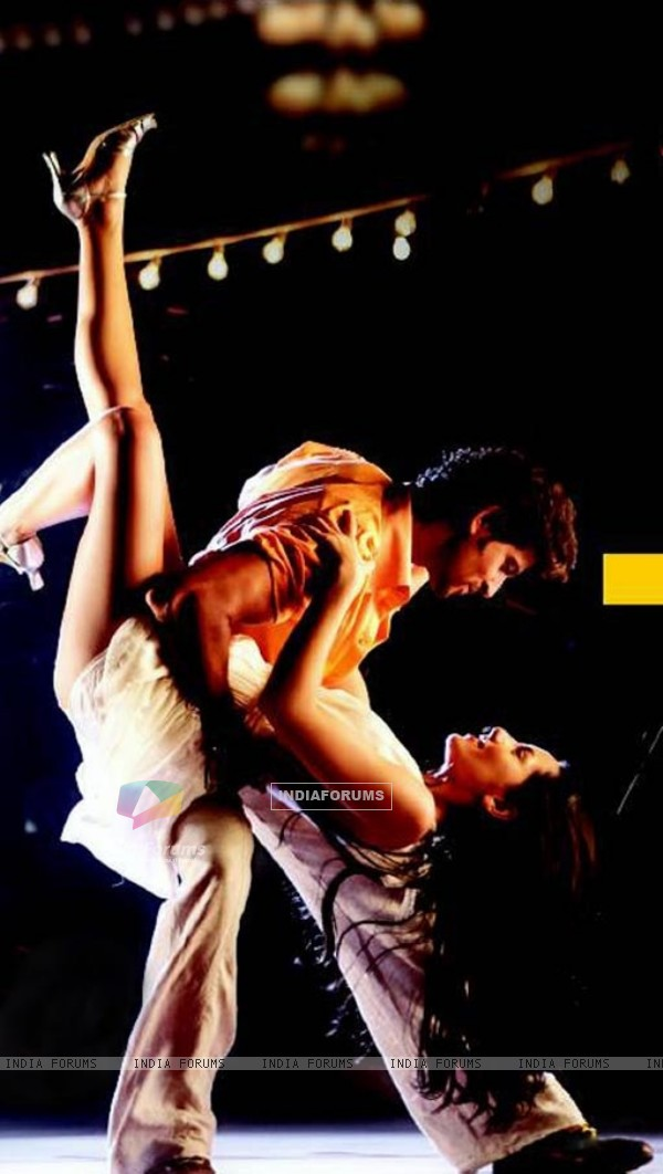 Hrithik and Barbara in Kites