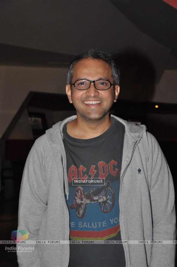Rajesh Mapuskar at Film Ferrari Ki Sawaari Kids Special Screening