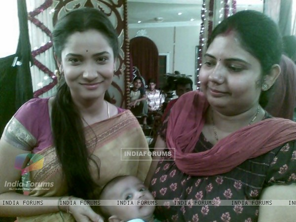 Ankita Lokhande On The Set