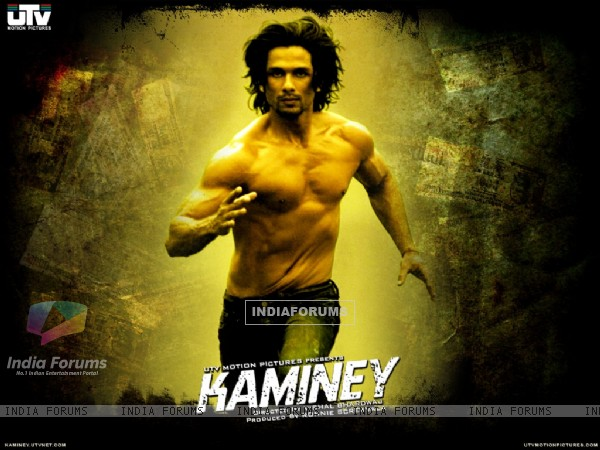 Shahid Kapoor running in Kaminey (20541)
