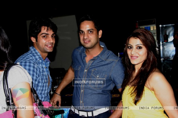 Vikas Kalantri and Priyanka Chibber at Karan Wahi Birthday Party
