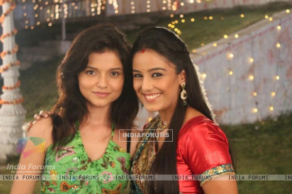 Rubina Dilaik and Srishty Rode