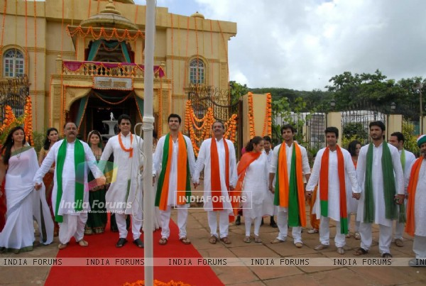 Zee Tv Stars Celebrating Republic Day