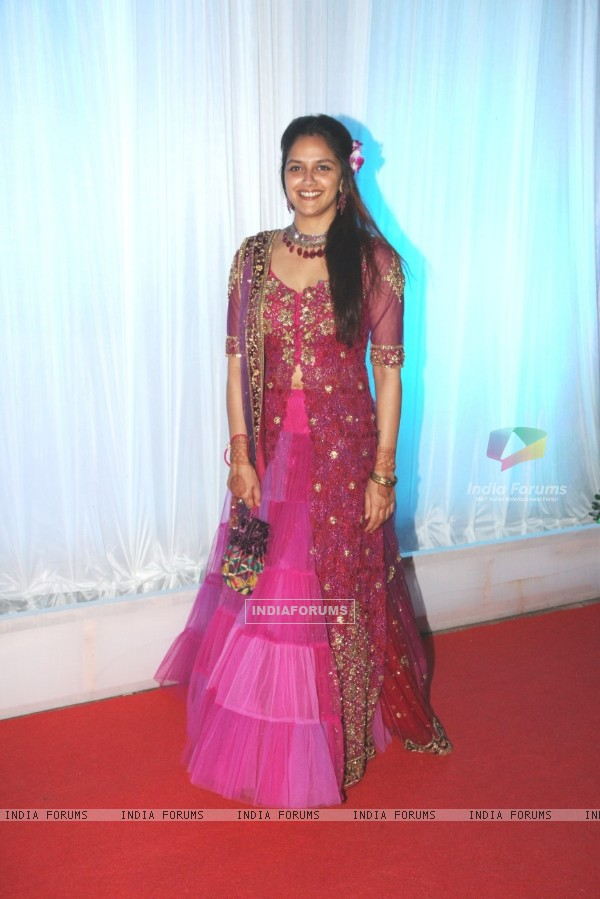 Ahana Deol at Esha Deol's Wedding Reception